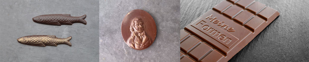 We produce chocolate moulds according to your ideas
